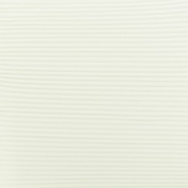 ♥ Coupon 200 cm X 145 cm ♥ pleated Polyester Fabric - raw