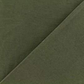 Cotton Gabardine Fabric - Khaki Green x 10cm
