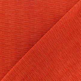 Tissu Maille Lurex Glawdys - Curcuma x 10cm