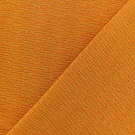 Tissu Maille Lurex Glawdys - Safran x 10cm