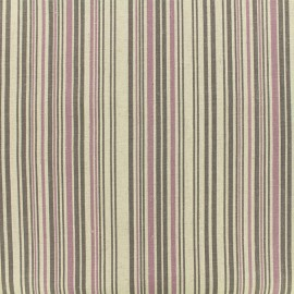 Striped Fabric - natural Shabby chic x 10cm