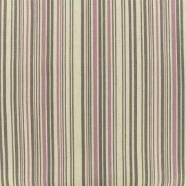 Tissu Shabby chic rayé - naturel x 10cm