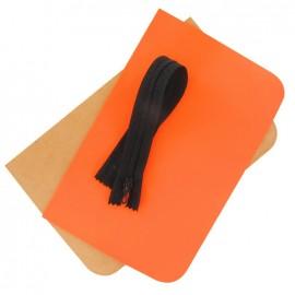 Kit grande pochette Fluo orange