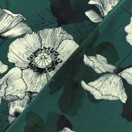 Viscose fabric - green Natasha x 10 cm