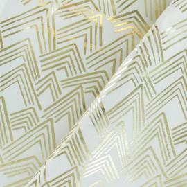 Tissu coton Rico Design The Alpaca Collection - Montagne - gris x 10cm