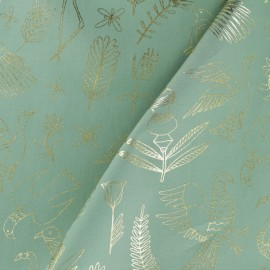 Tissu coton Rico Design The Alpaca Collection - Oiseaux x 10cm