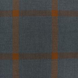Tissu Tailleur Bel Air - gris x 10cm