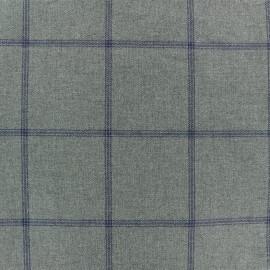 Tissu Tailleur Edderton - gris x 10cm
