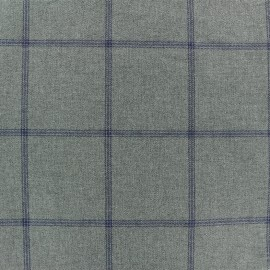 Tissu Tailleur sergé Edderton - gris x 10cm
