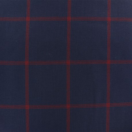 Twill Tailor fabric -Blue Alastor x 10cm