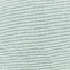 Tubular Jersey fabric - green/sauge fine Stripes x 10 cm