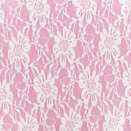 Lace Fabric - white Anita x 10cm