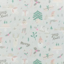 Tissu coton Rico Design Elfes - gris x 10cm