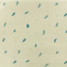 Cotton fabric Branches by Rico Design - linen aspect x 10cm