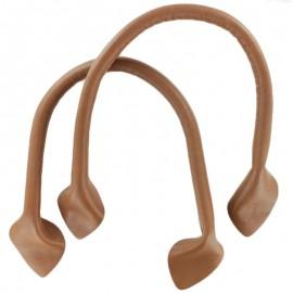 Bell-Bottom Bag-Handle - Terracotta x2