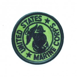 USA Marine Corps Iron-on - Green