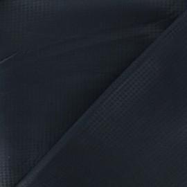 Neoprene scuba fabric - Navy Pied de poule x 10cm