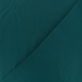 Twill viscose fabric - emerald x 10 cm