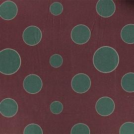 Gabardine fabric - Burgundy Pasadena x 10cm