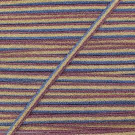 Ruban Tressé Lurex Elemento 7 mm - Feu x 1m