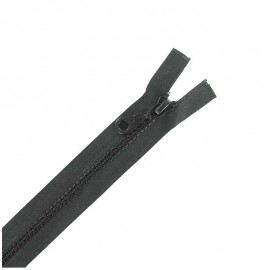 Moulded plastic open end zip eclair® - anthracite