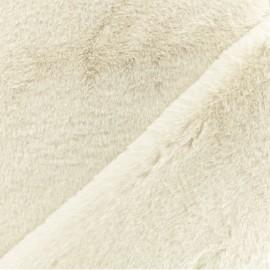 Tissu fourrure Malmo - crème x 10cm