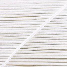 Cordon Lurex Réflexion 8 mm - Blanc x 1m