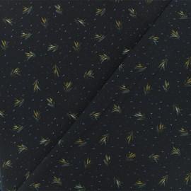 Crêpe Fabric - Navy blue Bethany x 50cm