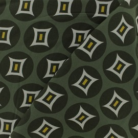 ♥ Coupon 150 cm X 140 cm ♥  Viscose Fabric - Green Tangalle