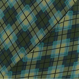 ♥ Coupon 340 cm X 140 cm ♥ Viscose Fabric - Green Notting Hill