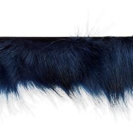 Col Fourrure Hiverno 70 cm - Bleu Marine