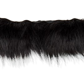 70 cm Faux Fur Collar - Black Hiverno