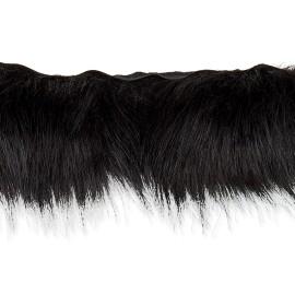 70 cm Faux Fur Collar - Black Hiverno