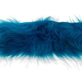 Col Fourrure Hiverno 70 cm - Bleu Canard