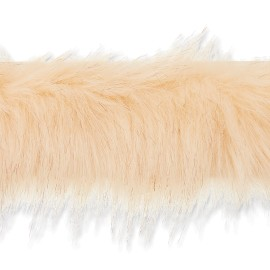 70 cm Faux Fur Collar - Beige Hiverno