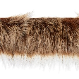 70 cm Faux Fur Collar - Brown Hiverno
