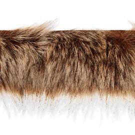 70 cm Faux Fur Collar - Brown Hiverno