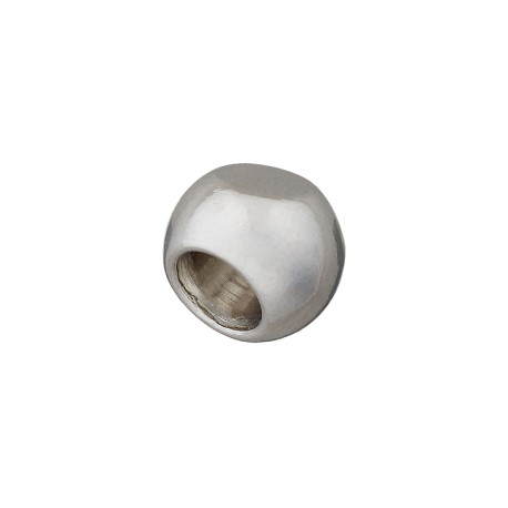 Embout Cordon Métal Rond 12 mm - Nickel