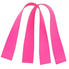 ♥ Rib bag-handles - fluorescent pink ♥