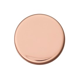 Flat Metal Button - Cooper