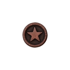 Metal Button - Ancient Cooper Sailor'Star