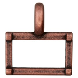25 mm Metal Buckle - Ancient Cooper Carro