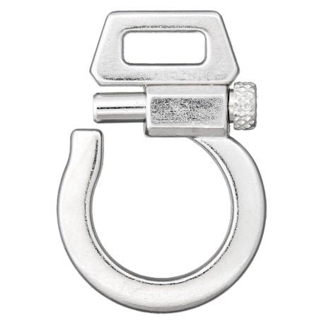 Boucle Métal Fantasia 10 mm - Argent
