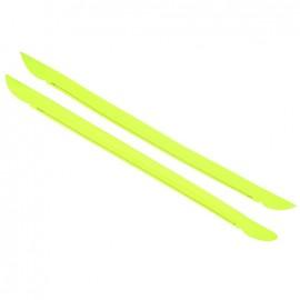Bell-botton bag-handles - fluorescent yellow