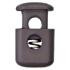Arrêt Cordon Polyester Block 38 mm - Gris