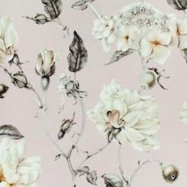 Tissu jersey viscose Mizuki - rose x 10 cm