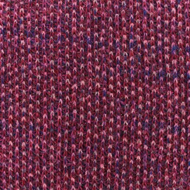 ♥ Coupon 230 cm X 145 cm ♥Lurex Light knitted fabric - Fuchsia