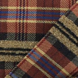 Wool fabric - Rust Harry x 10cm