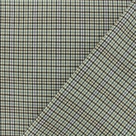 Lurex Tailor fabric - Beige Newcastle x 10cm