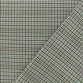 Tissu Tailleur Lurex Newcastle - Beige x 10cm